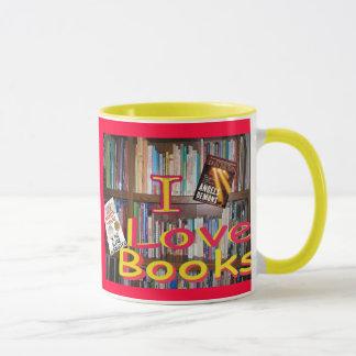 Caneca os livros são amigos maravilhosos