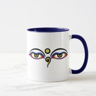 Caneca Os olhos de Buddha