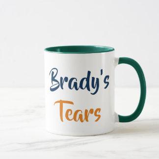 Caneca Os rasgos de Brady