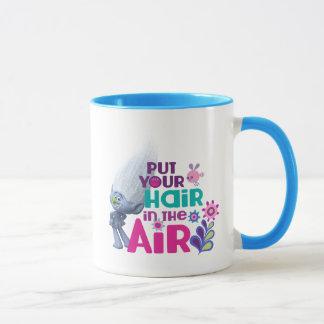Caneca Os troll | pôr seu cabelo no ar