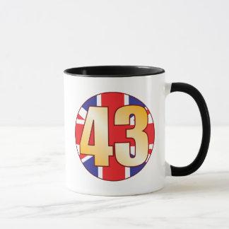 Caneca Ouro de 43 Reino Unido