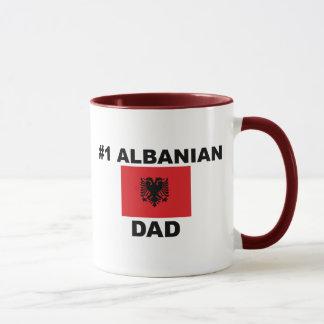 Caneca Pai do albanês #1