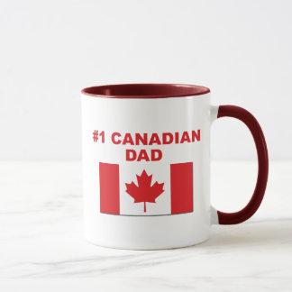 Caneca Pai do canadense #1