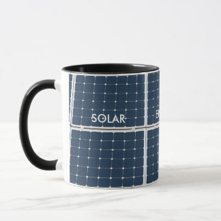 Caneca Painel da célula solar