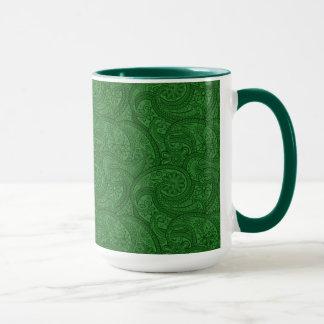Caneca Paisley verde