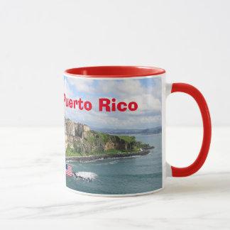 Caneca panorâmico de San Juan Puerto Rico