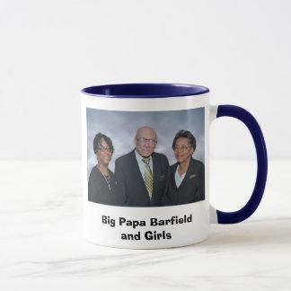 Caneca Papá grande Barfield e meninas