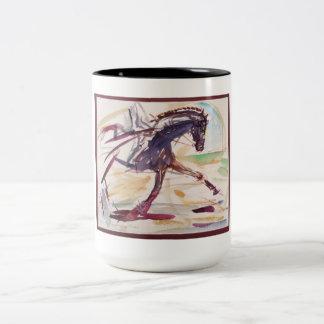 Caneca para amantes do cavalo