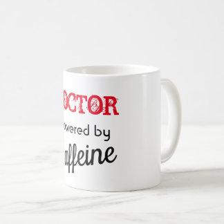 Caneca para o Powered do doutor pela cafeína