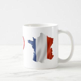 Caneca para patriotas de France