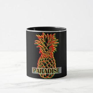Caneca Paraíso do abacaxi
