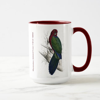 Caneca Parakeet de CollectionTabuan do pássaro de Edward