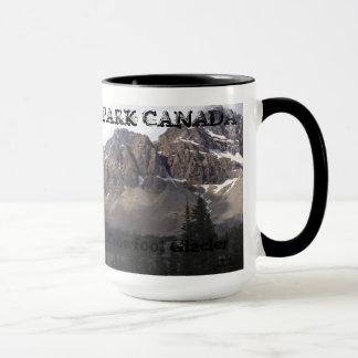 Caneca Parque nacional de Banff - geleira da aranha