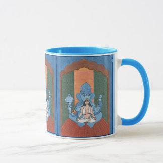 Caneca Parvati e Ganesha