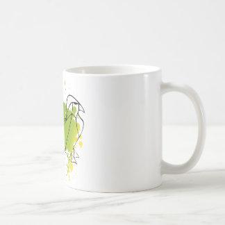Caneca Pássaro verde