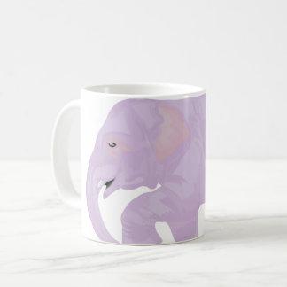 Caneca Pastel do elefante