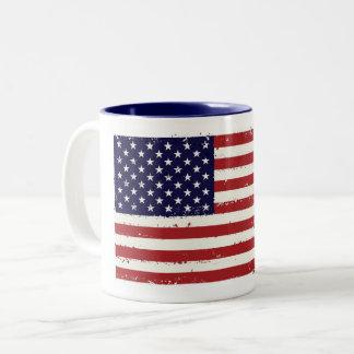 Caneca patriótica da bandeira
