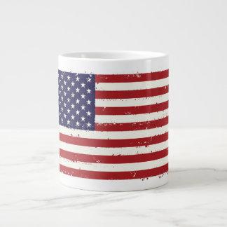 Caneca patriótica do jumbo da bandeira