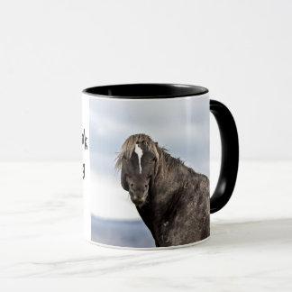 Caneca Pense nem sequer sobre o toque de meu café!