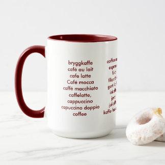 Caneca Perito do café