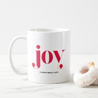 Caneca personalizada do feriado da alegria