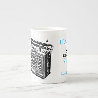 Caneca personalizada rádio do aniversário do 90 do