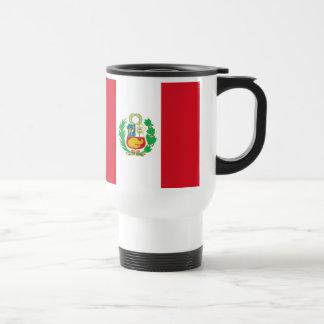 Caneca peruana da bandeira do estado