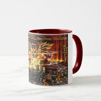 Caneca Phoenix Drinkware de aumentação