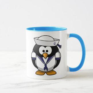 Caneca Pinguim do marinheiro