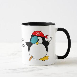 Caneca Pinguim legal do pirata