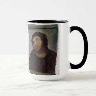 Caneca pintura do Jesus Cristo