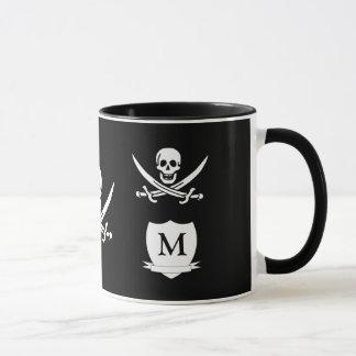 Caneca Pirata & monograma