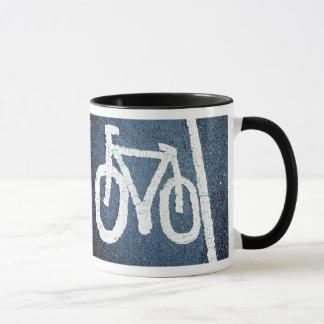 Caneca Pistas de bicicleta