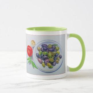 Caneca Placa verde-oliva