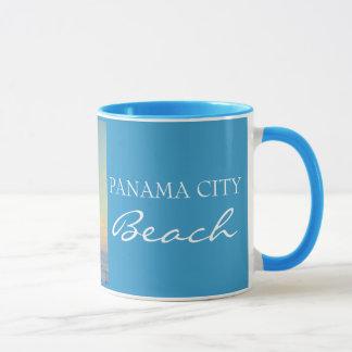Caneca Praia FL da Cidade do Panamá - copo do por do sol