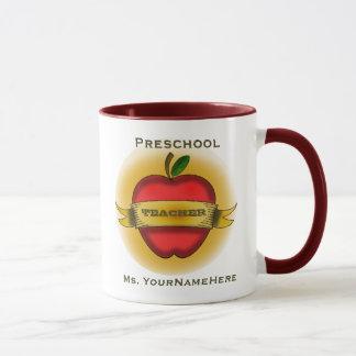 Caneca pré-escolar do professor