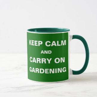 Caneca Presente de jardinagem engraçado - citações da