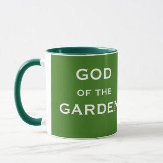 Caneca Presente de jardinagem engraçado - deus do nome da