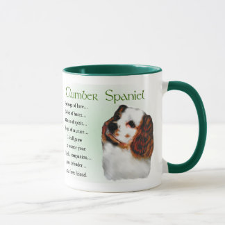 Caneca Presentes do Spaniel de Clumber