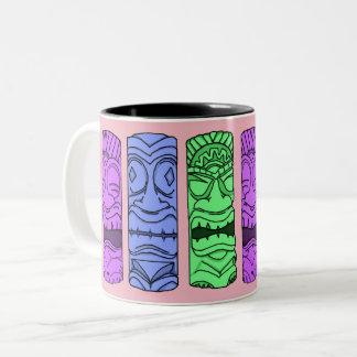 Caneca principal de Tiki do pop art