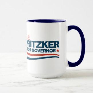 Caneca PRITZKER - JB Pritzker para o governador