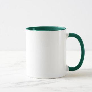 Caneca Pro logotipo do verde da vida