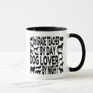 Caneca Professor da categoria do amante do cão ó