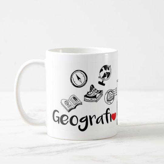 Caneca Profissão Geografia 325ml