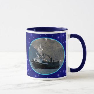 Caneca Pulverizador Aleutian, barco do caranguejo no