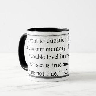 Caneca que eu quero questionar as citações Keyzer
