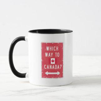 Caneca Que maneira a Canadá - -