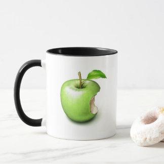 Caneca que mostra maçãs do iMug
