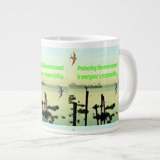 Caneca que protege o ambiente é o responsib