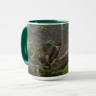 Caneca Queda - falcão de peregrino